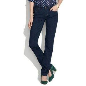 Madewell | Rail Straight Jeans Dark Denim Wash